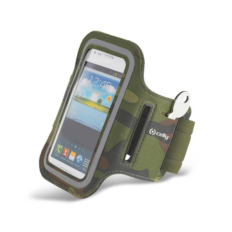 Puzdro na mobil športové Celly Armband 3XL (ARMBAND08) zelené