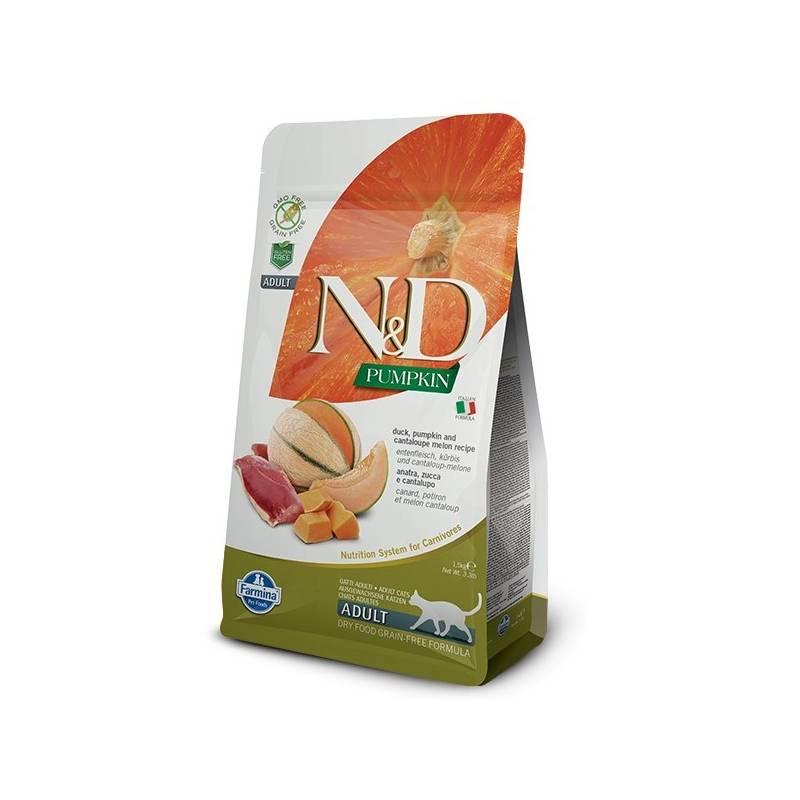 Granule N&D Grain Free Pumpkin CAT Duck & Cantaloupe melon 1,5 kg