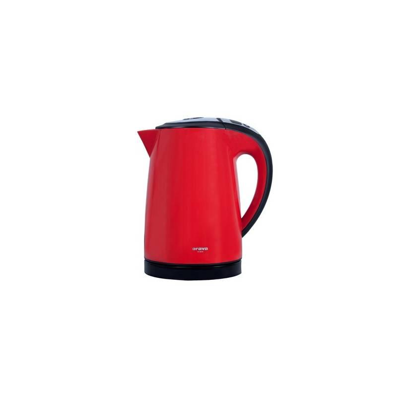 Rýchlovarná kanvica Orava VK-3818 R červená