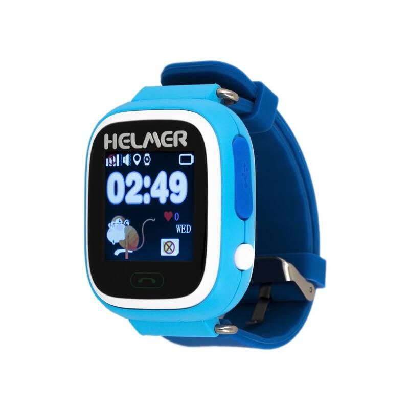 Chytré hodinky Helmer LK 703 dětské (Helmer LK 703 B) modrý