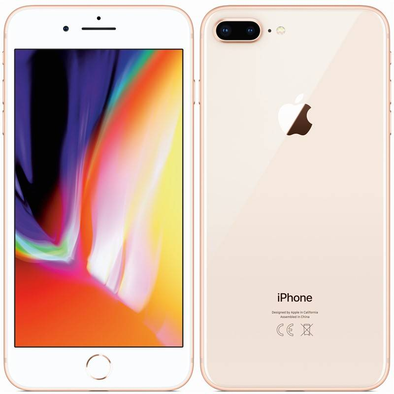 Mobilný telefón Apple iPhone 8 Plus 256 GB - Gold (MQ8R2CN/A) + Doprava zadarmo