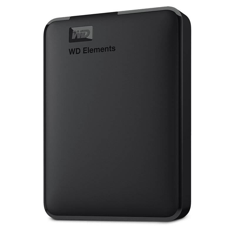 Externý pevný disk Western Digital Elements Portable 4TB (WDBU6Y0040BBK-WESN) čierny + Doprava zadarmo