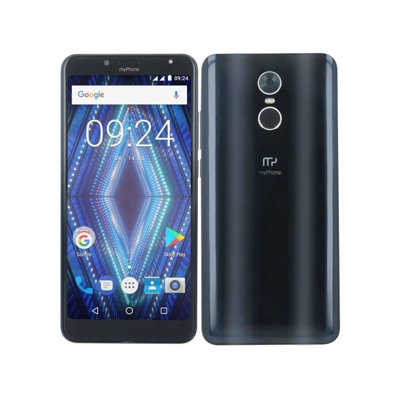 Mobilní telefon myPhone PRIME 18x9 (TELMYAPRIME189BK) černý