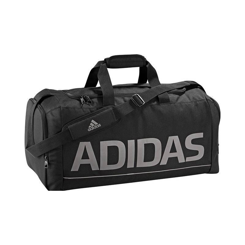 34b959f44e Taška športová Adidas X12157 Lineage Essentials Teambag M čierna ...