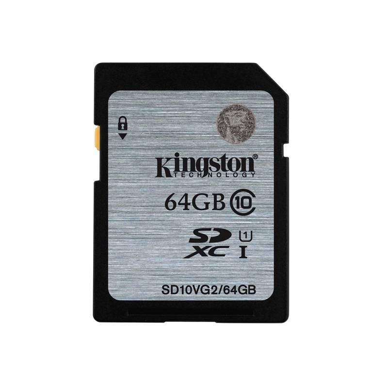 Pamäťová karta Kingston SDXC 64GB UHS-I U1 (45R/10W) (SD10VG2/64GB)