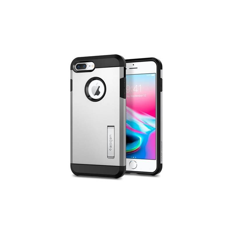 Kryt na mobil Spigen Neo Hybrid pro Apple iPhone (7/8) Plus strieborný