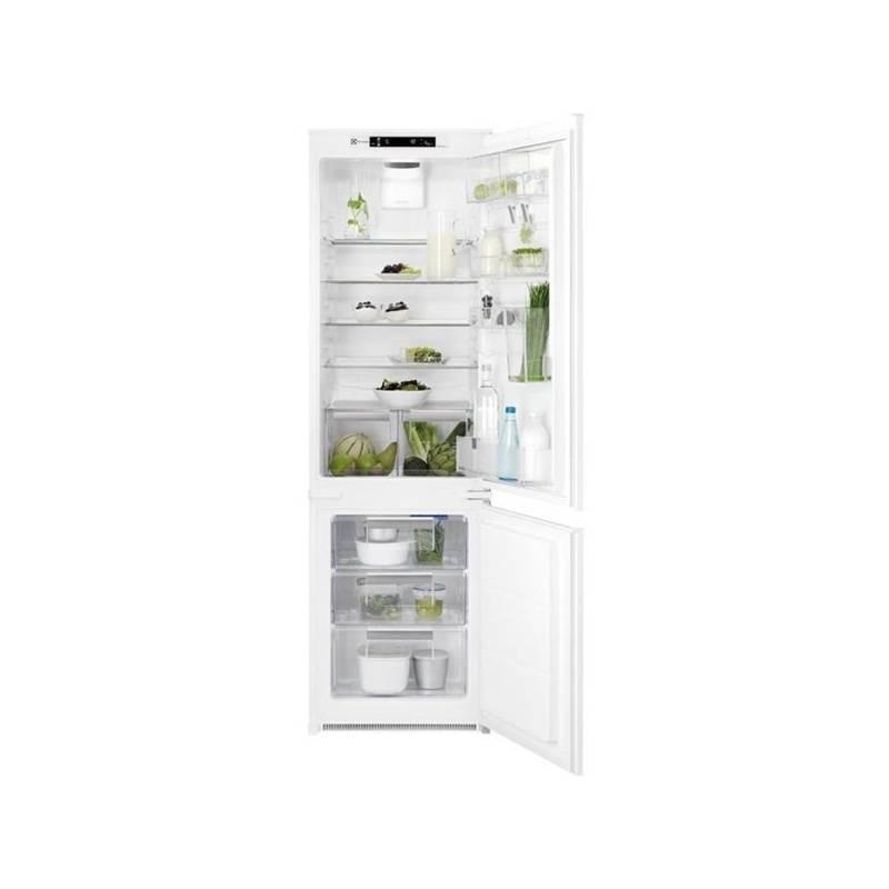 Kombinácia chladničky s mrazničkou Electrolux ENN2874CFW biela + Doprava zadarmo