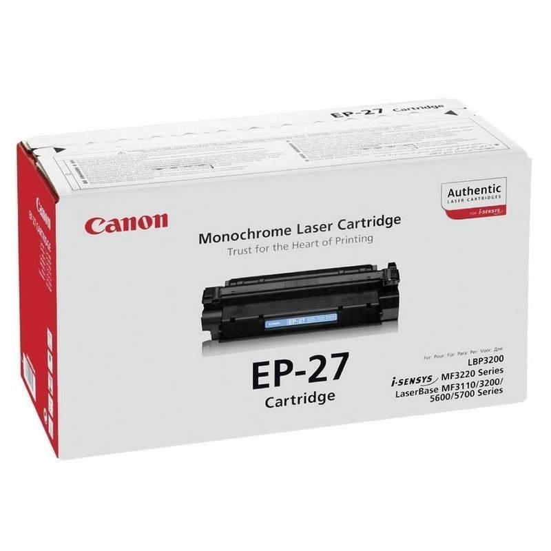 Toner Canon EP-27, 2,5K stran - originální (8489A002) čierny