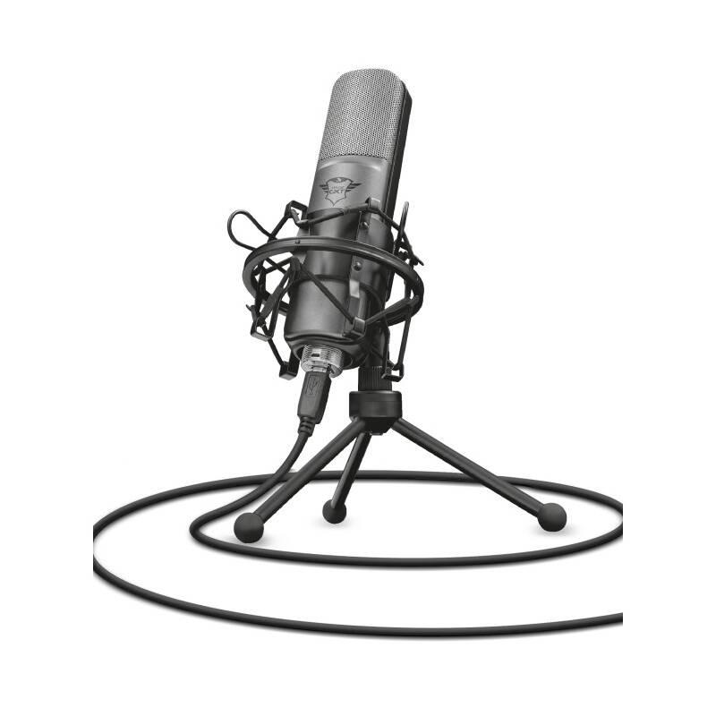 Mikrofón Trust GXT 242 Lance (22614) čierny + Doprava zadarmo