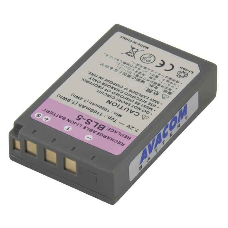 Batéria Avacom Olympus BLS-5 Li-ion 7.2V 1150mAh 7.9Wh (DIOL-BLS5-531)