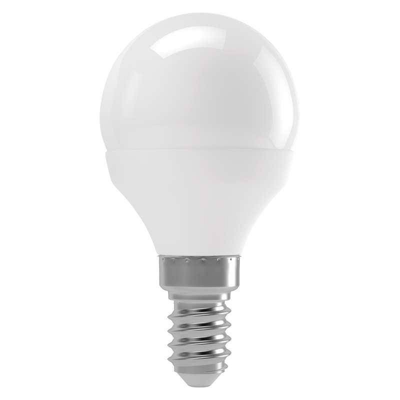 LED žiarovka EMOS mini globe, 4W, E14, neutrální bílá (1525731402)