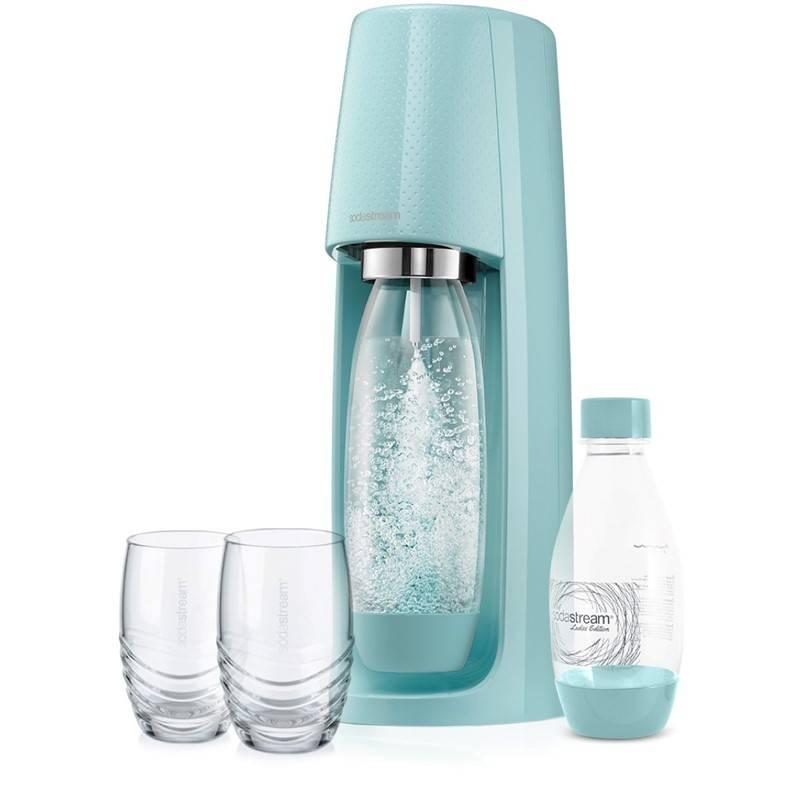 Výrobník sodové vody SodaStream Spirit Modrý + Doprava zadarmo