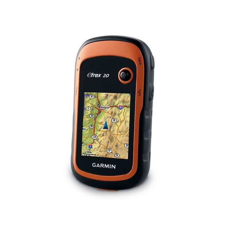 Navigačný systém GPS Garmin eTrex 20x východní evropa oranžová