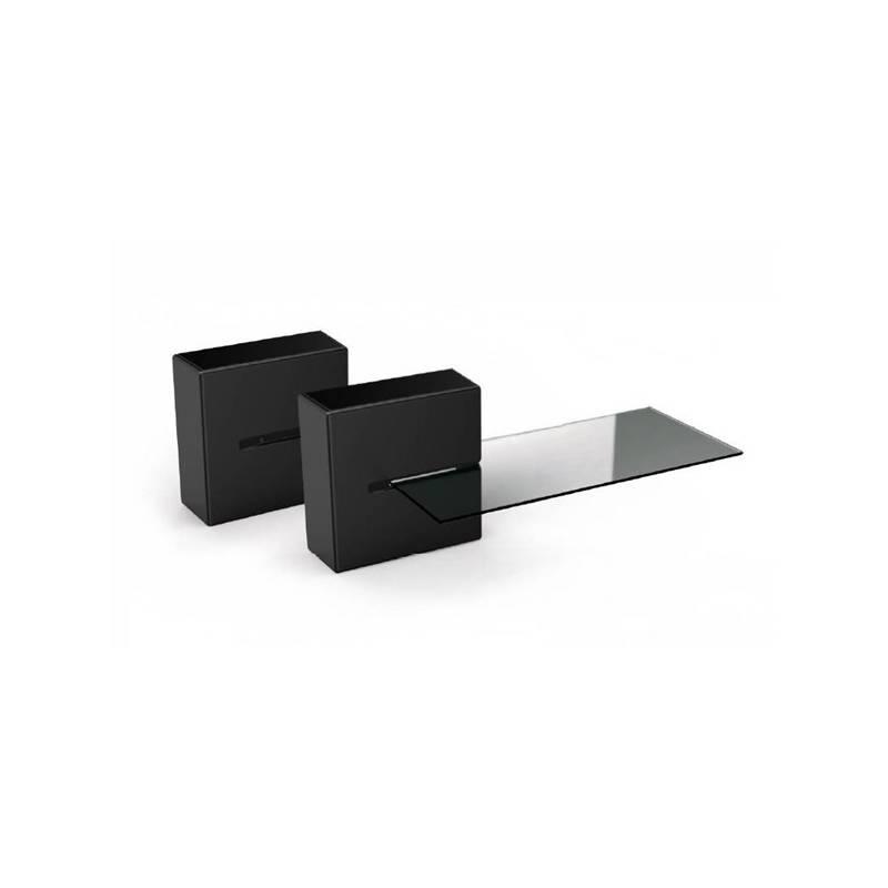 Organizér na káble Meliconi GHOST CUBE Shelf (480521 BA) čierny