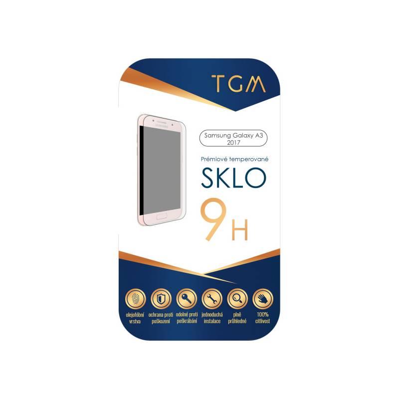 Ochranné sklo TGM pro Samsung Galaxy A3 (2017) (TGM-SM-A317) priehľadné