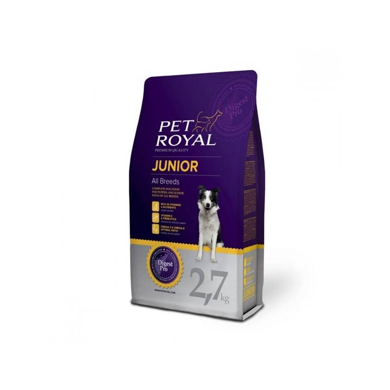 Granule Pet Royal Junior Dog All Breeds 2,7 kg