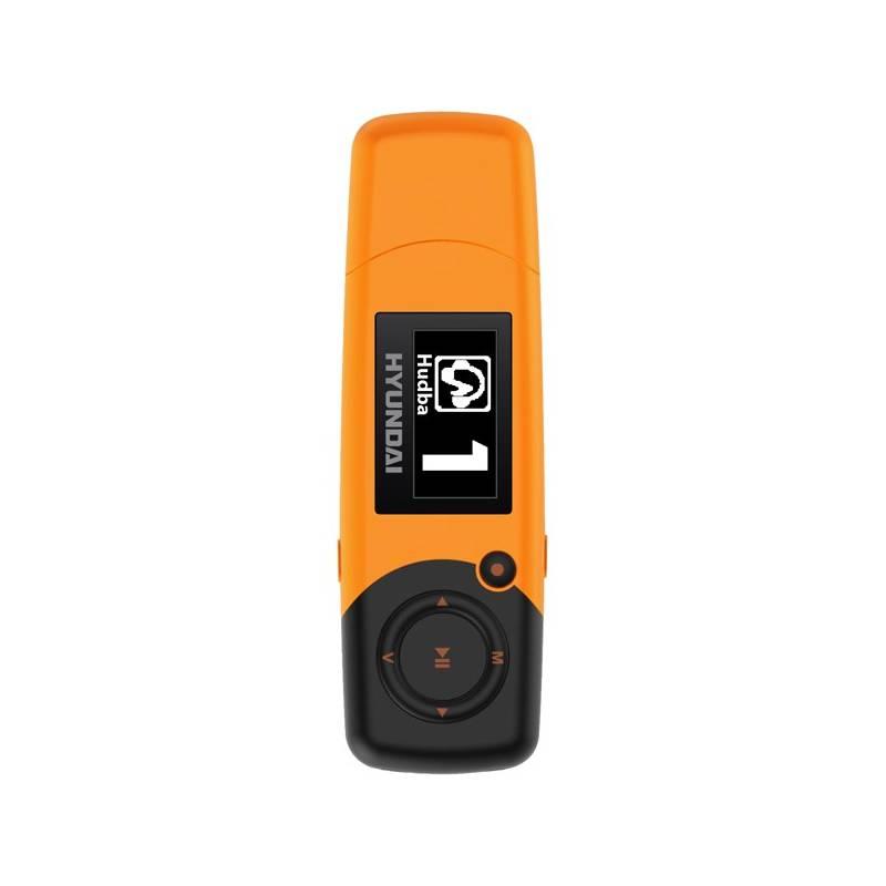 MP3 prehrávač Hyundai MP 366 GB8 FM O oranžový