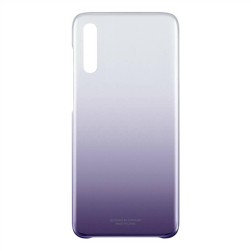 Kryt na mobil Samsung Gradation Cover pro Galaxy A70 (EF-AA705CVEGWW) fialový