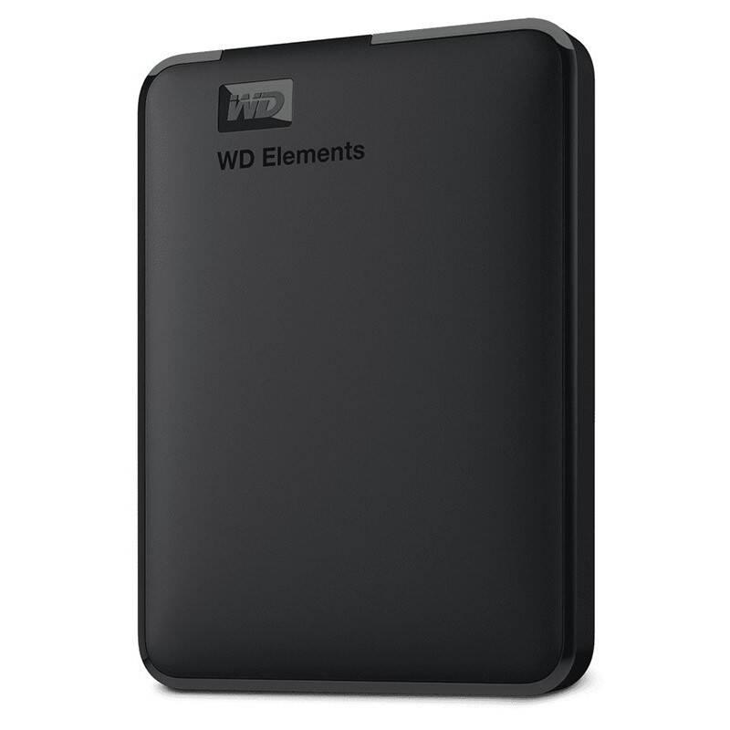 Externý pevný disk Western Digital Elements Portable 2TB (WDBU6Y0020BBK-WESN) čierny + Doprava zadarmo