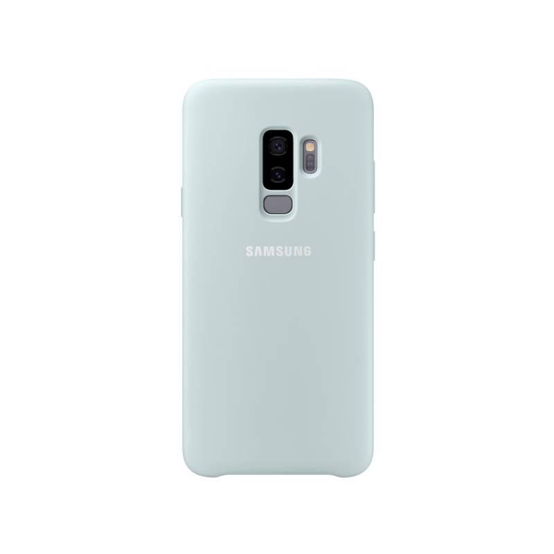 Kryt na mobil Samsung Silicon Cover pro Galaxy S9+ (EF-PG965T) (EF-PG965TLEGWW) modrý