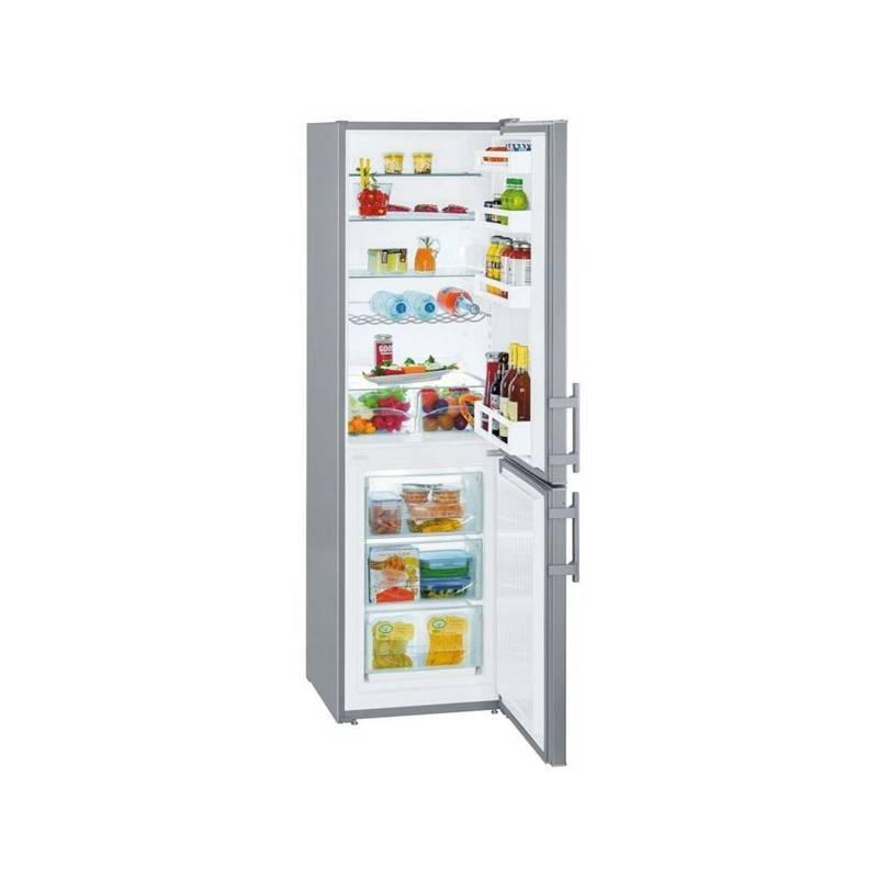 Kombinácia chladničky s mrazničkou Liebherr CUef 3311 nerez + Doprava zadarmo