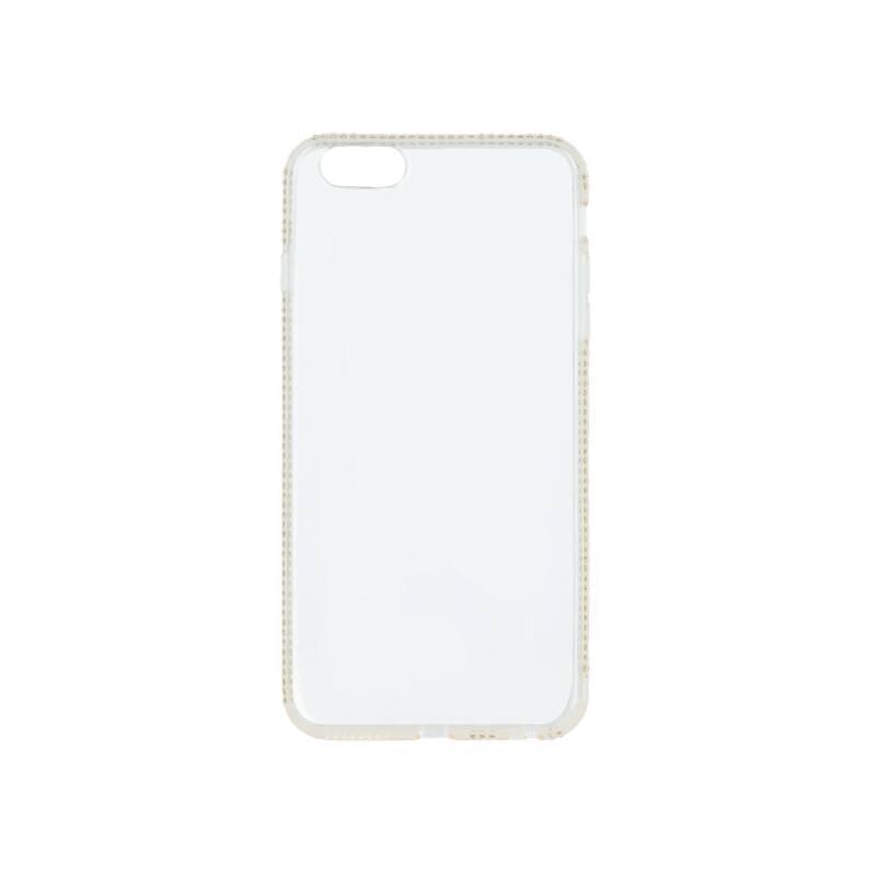 Kryt na mobil Beeyo Diamond Frame pro Samsung Galaxy S10 priehľadný