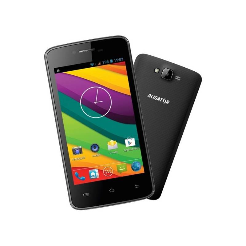 Mobilný telefón Aligator S4030 Duo (AS4030B) čierny  ab86db03b47