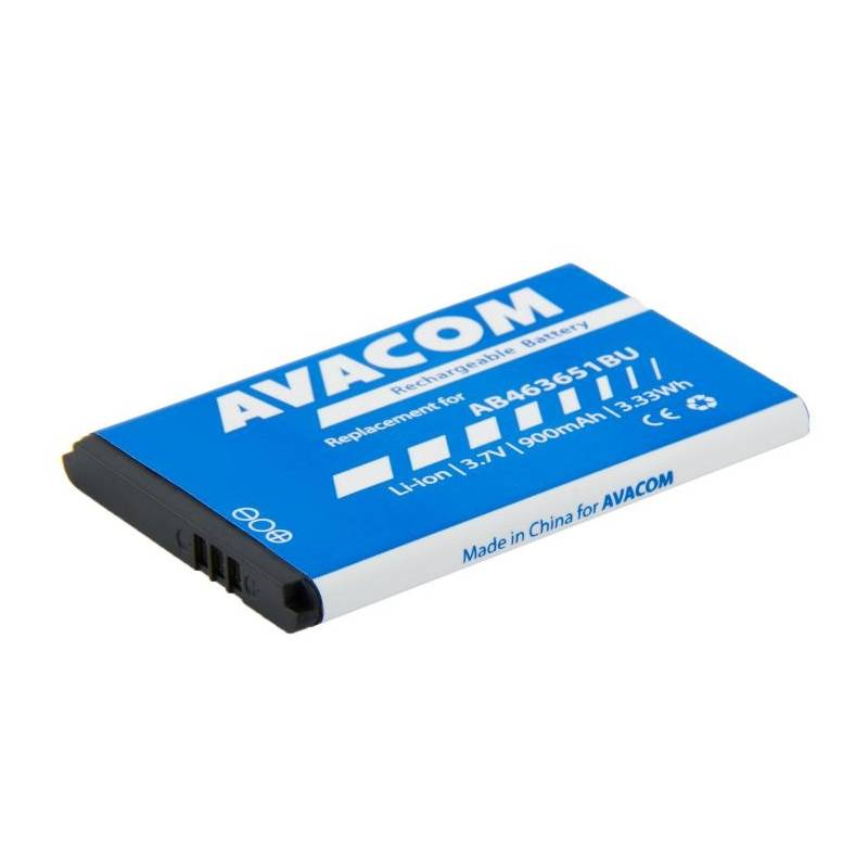 Baterie Avacom pro Samsung B3410 Corby plus Li-Ion 3,7V 900mAh (náhrada AB463651BU) (GSSA-S5610-900)