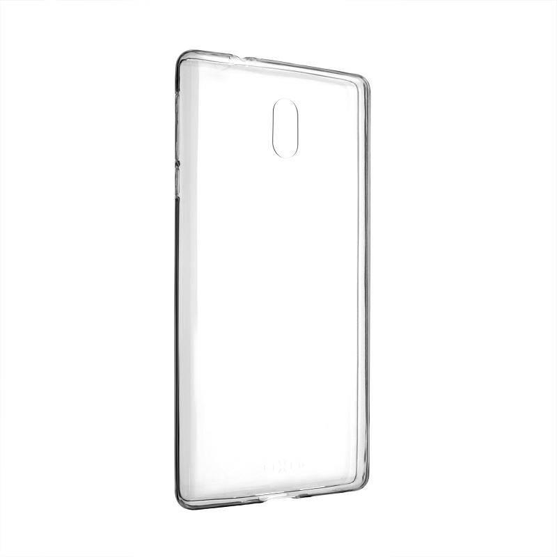 Kryt na mobil FIXED pro Nokia 3, 0,5 mm priehľadný + Doprava zadarmo