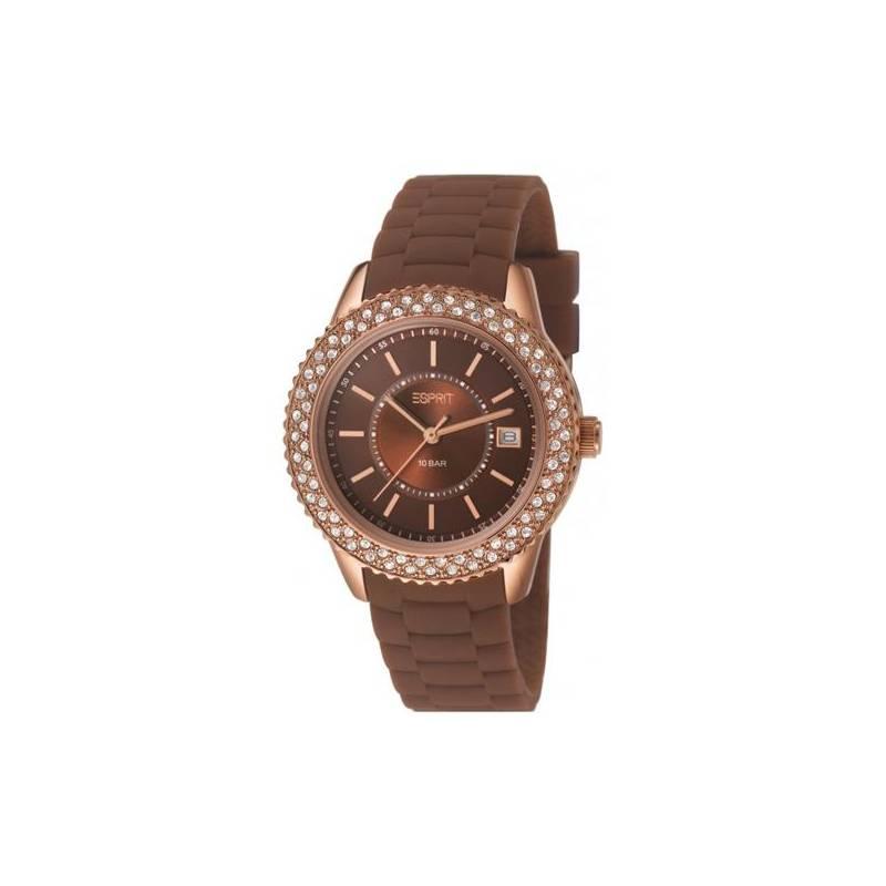 Hodinky dámské Esprit Marin Glints Brown ES106212008  9b23b9851e