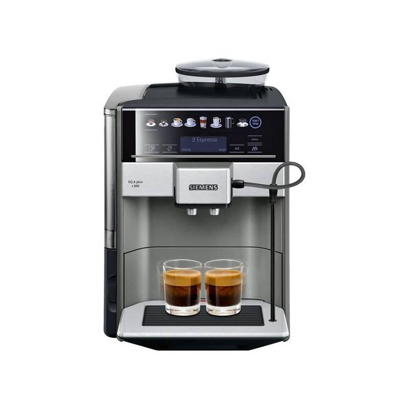 Espresso Siemens EQ.6 TE655203RW sivé + Doprava zadarmo