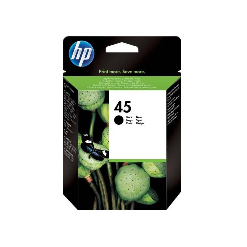 Cartridge HP 45, 930 stran (51645AE) čierna
