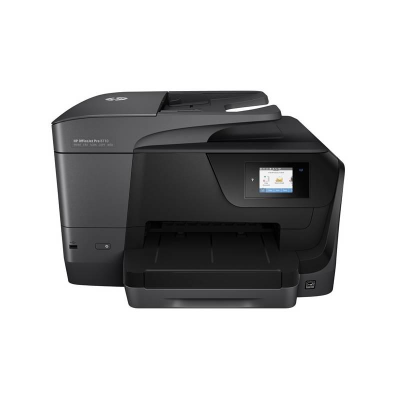 Tlačiareň multifunkčná HP Officejet Pro 8710 (D9L18A#A80) čierna