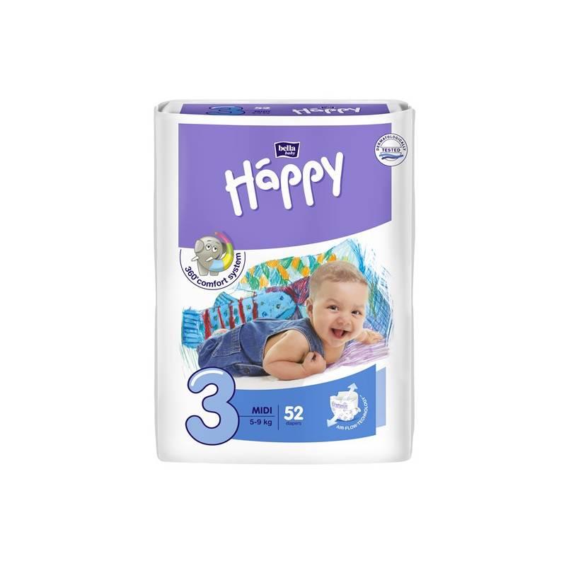 Plienky Bella Baby Happy Midi 52 ks