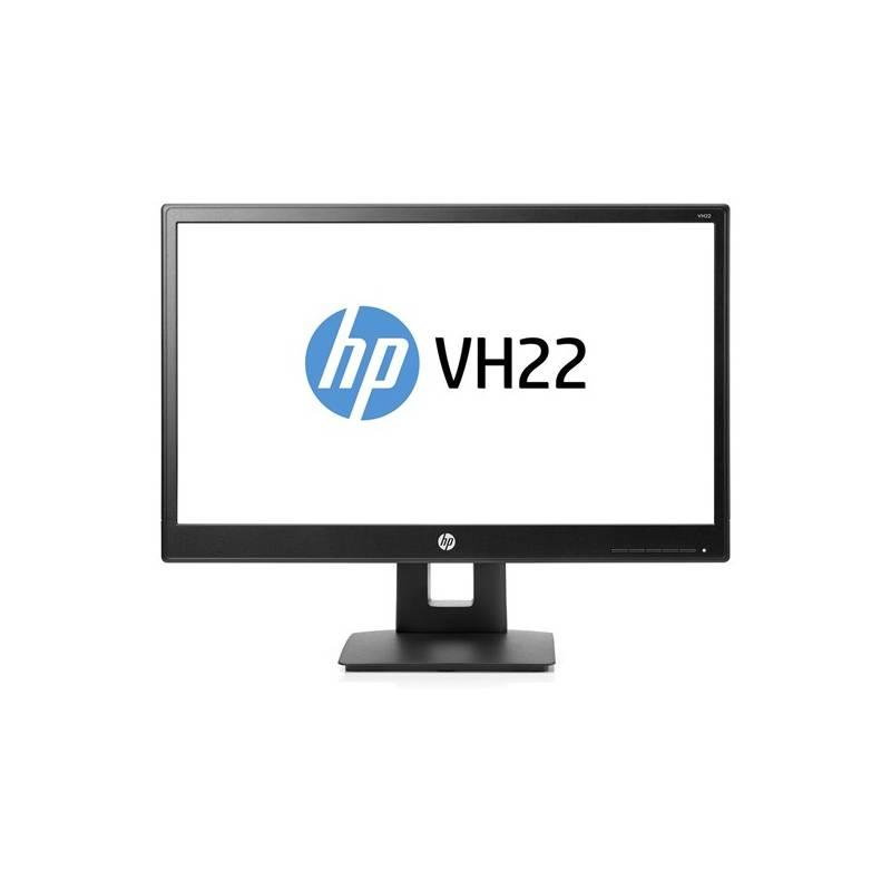 Monitor HP VH22 (X0N05AA#ABB) čierny