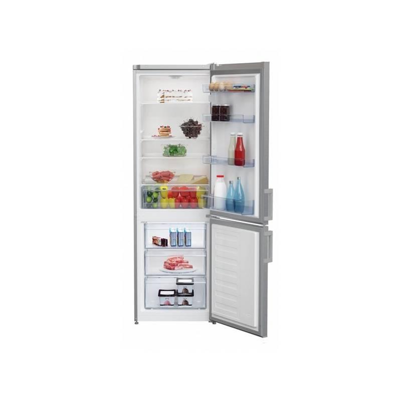 Kombinácia chladničky s mrazničkou Beko CSA 270 M21X nerez + dodatočná zľava 10 % + Doprava zadarmo