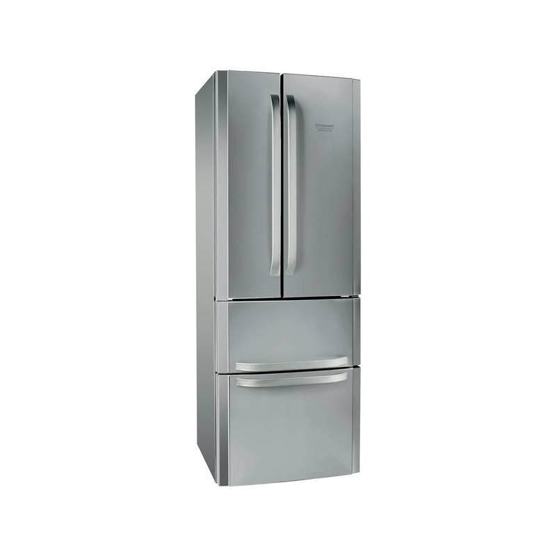 Kombinácia chladničky s mrazničkou Hotpoint-Ariston E4D AAA X C nerez + Doprava zadarmo