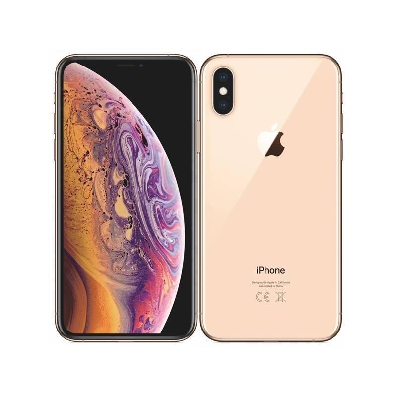Mobilný telefón Apple iPhone Xs 64 GB - gold (MT9G2CN/A) + Extra zľava 3 % | kód 3HOR2020