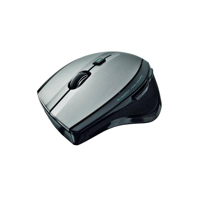 Myš Trust MaxTrack Wireless (17176) čierna/strieborná