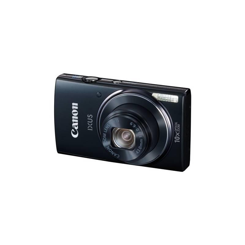 Digitálny fotoaparát Canon IXUS 157 IS + pouzdro a pam. karta zdarma (9542B002) čierny