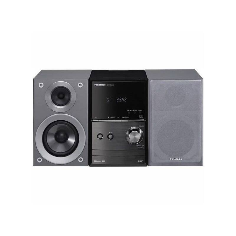 Mikro HiFi systém Panasonic SC-PM602EG-S (SC-PM602EG-S) strieborná + Doprava zadarmo