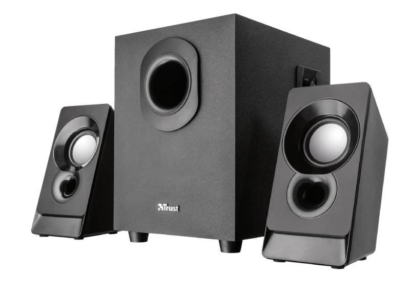 Reproduktory Trust Argo 2.1 Subwoofer Speaker Set (21038) čierne