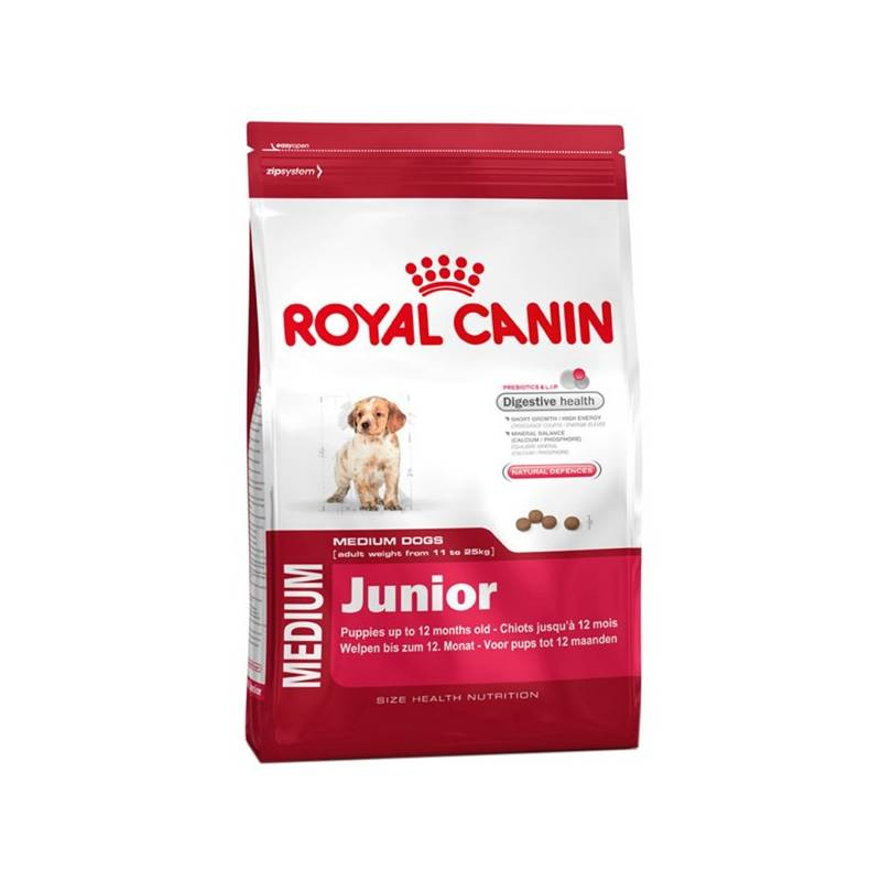 Granule Royal Canin Medium Junior 4 kg