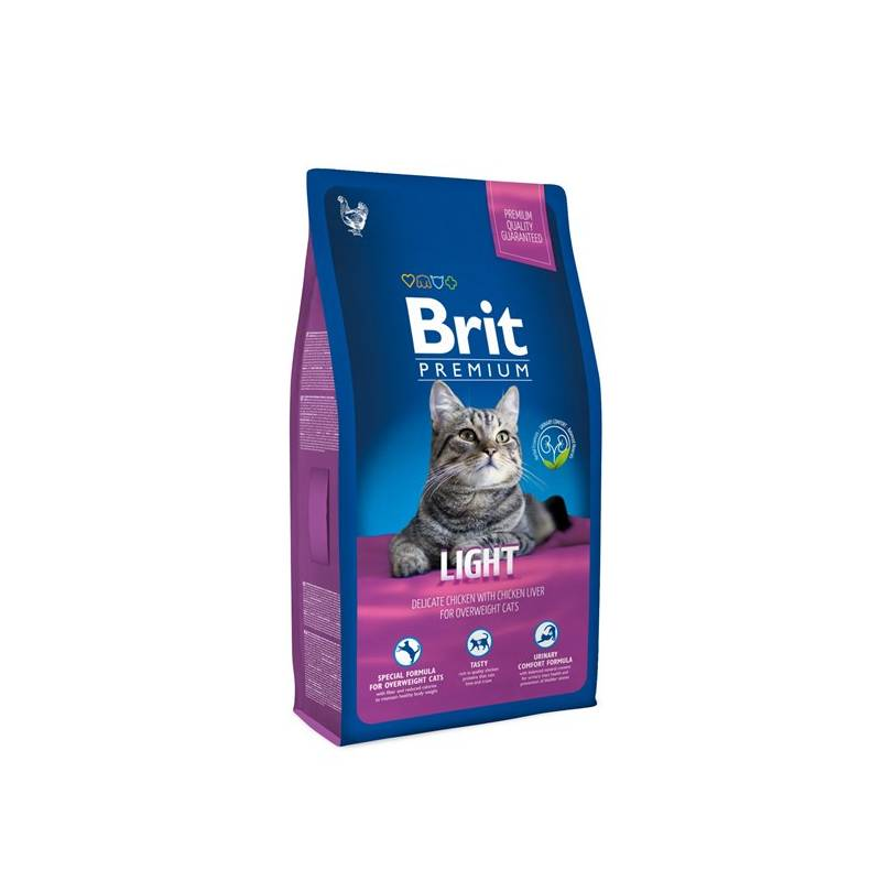 Granule Brit Premium Cat Light 8kg