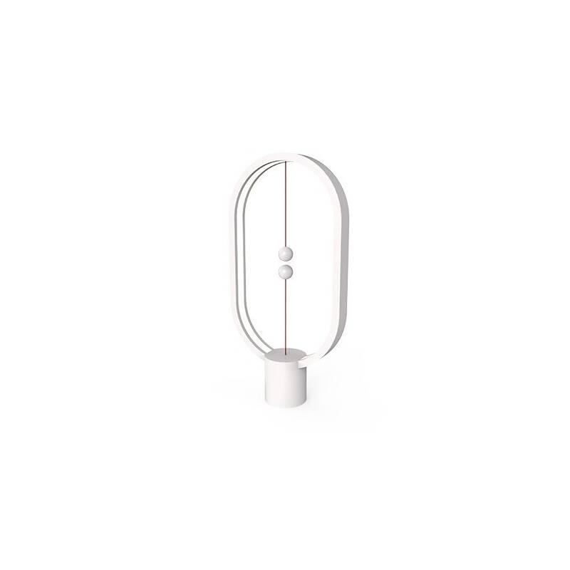 Stolná lampa Powercube Heng Balance Plastic Ellipse USB (DH0040WT) biela