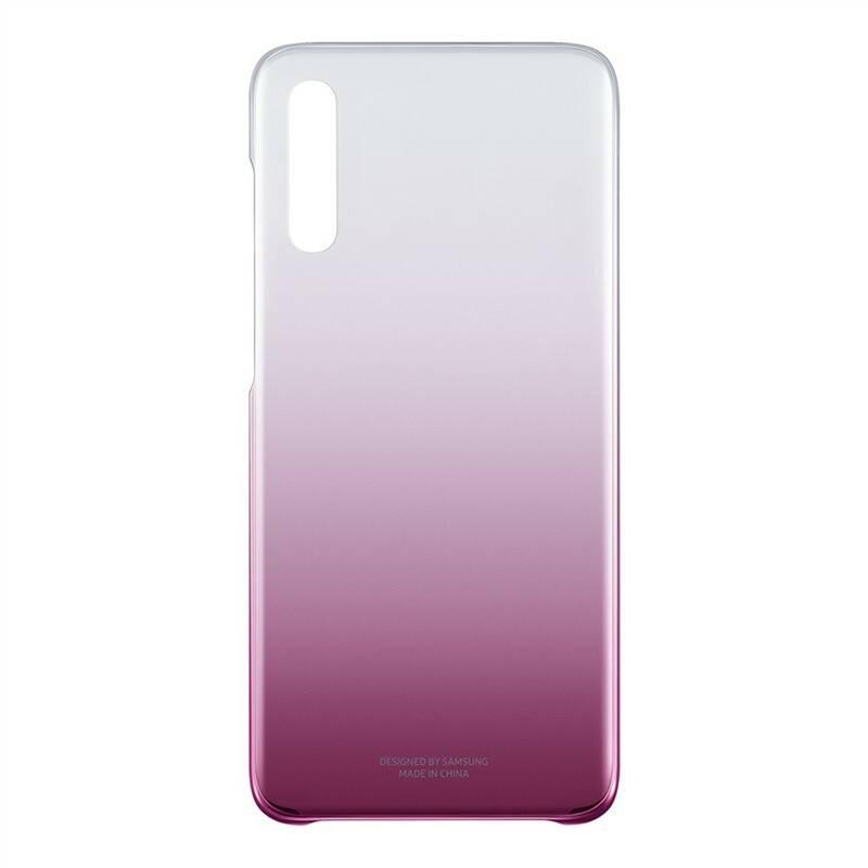 Kryt na mobil Samsung Gradation Cover pro Galaxy A70 (EF-AA705CPEGWW) růžový