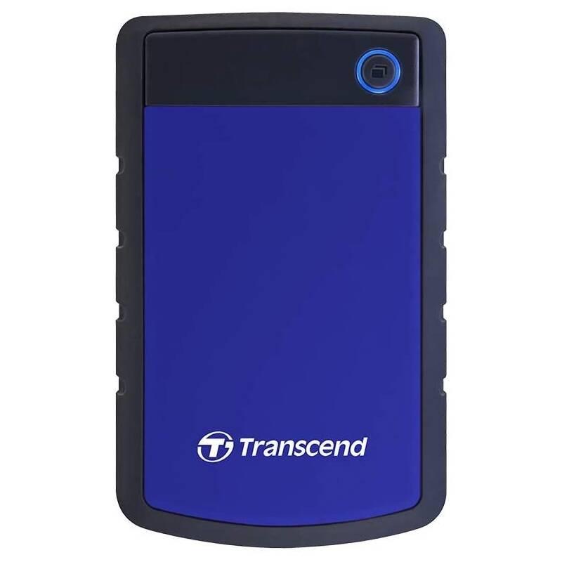 Externý pevný disk Transcend StoreJet 25H3B 2TB, USB 3.0 (3.1 Gen 1) (TS2TSJ25H3B) čierny/modrý