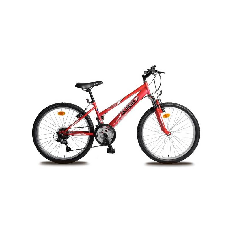 """Detský bicykel Olpran Falcon dívčí Sus 24"""" červené"""