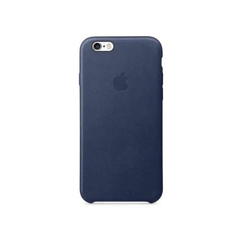 Kryt na mobil Apple Leather Case pro iPhone 6/6s - půlnočně modrý (MKXU2ZM/A)
