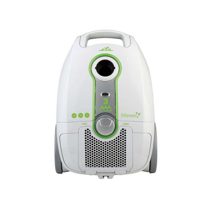 Vysávač podlahový ETA Manoa 2501 90010 biely + Doprava zadarmo
